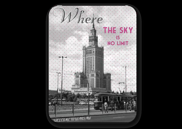 MAGNES CZASY PRL-U PAŁAC WHERE THE SKY IS NO LIMIT